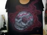 Camiseta em Algodão - Estampa Zumbi - Spetto Aero Art- R$25,00 (Varejo)